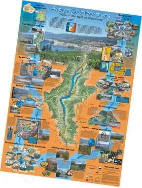 Okanagan Waterscape Poster